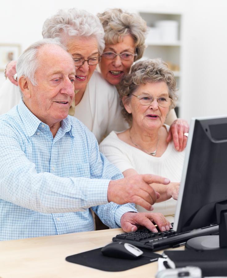 обучение работы за компьютером