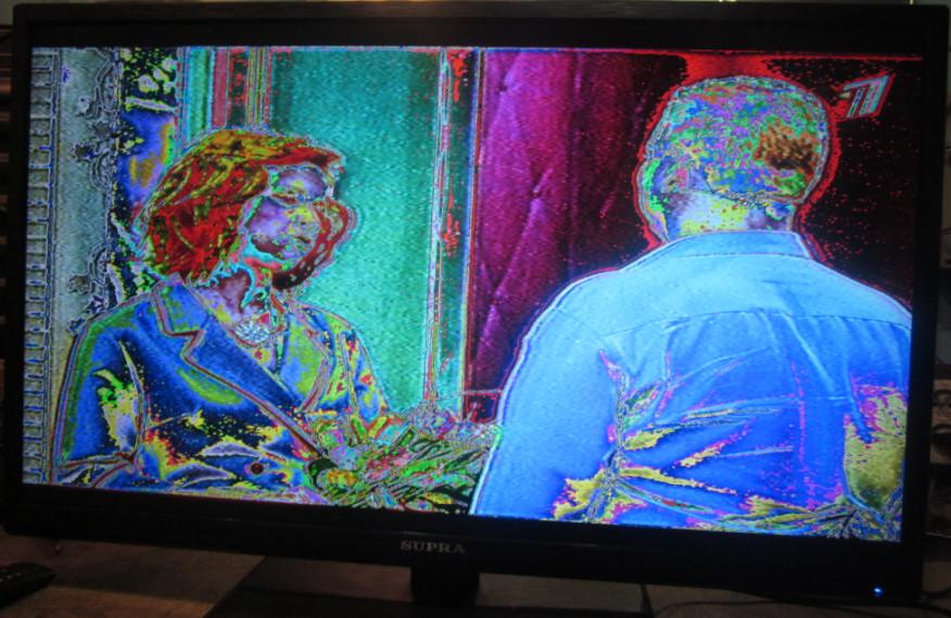 проблемы с изображением на телевизоре другие цвета