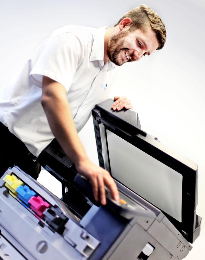 Подключение и настройка принтера сканера