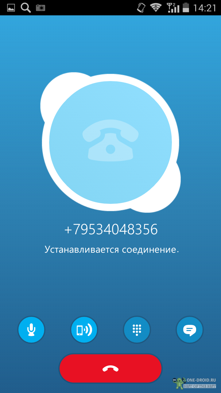 vysov zvonok po skype